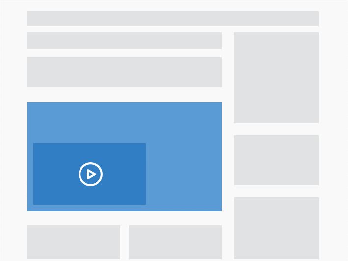 Video roadblock