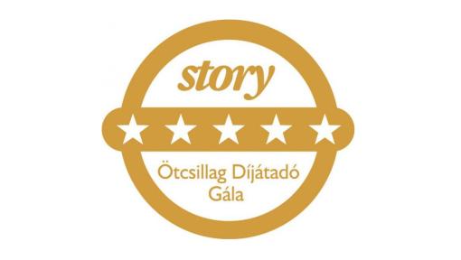 Story 5 csillag díjátadó gála