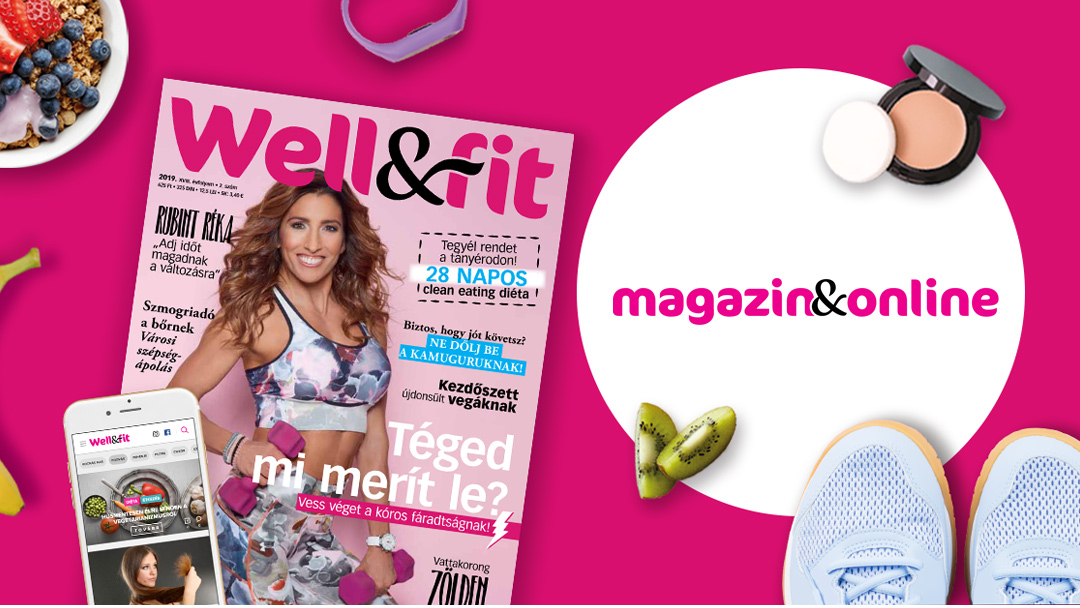 Wellandfit néven újul meg a Wellness magazin