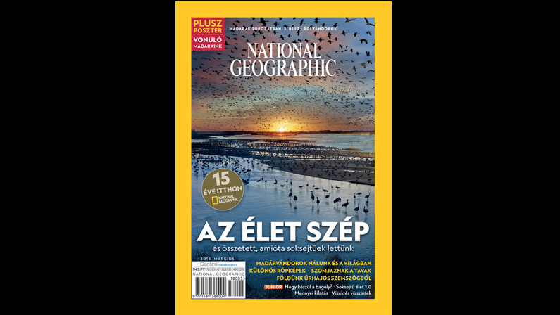 15 éves a magyar National Geographic