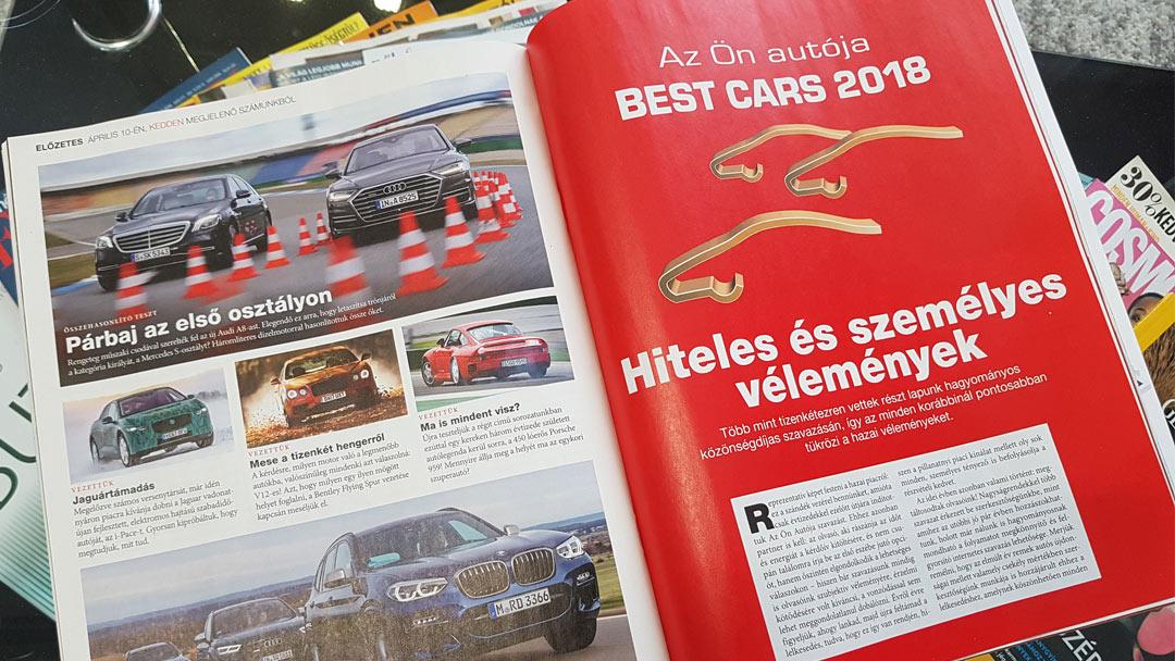 Rekord kitöltő a Best Cars szavazáson