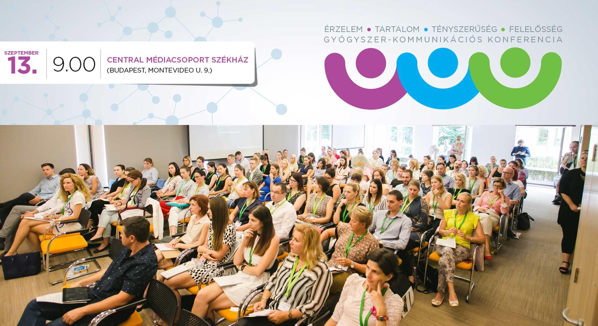 IV. Gyógyszer-kommunikációs konferencia a Central Média szervezésében