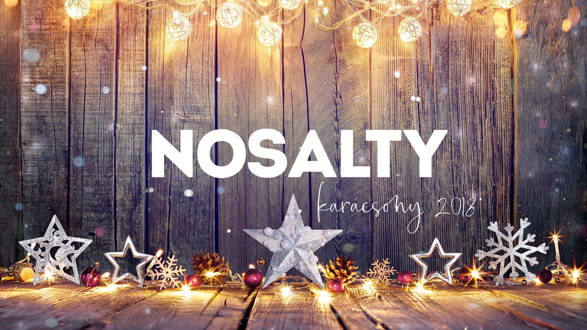 Nosalty – Karácsony 2018