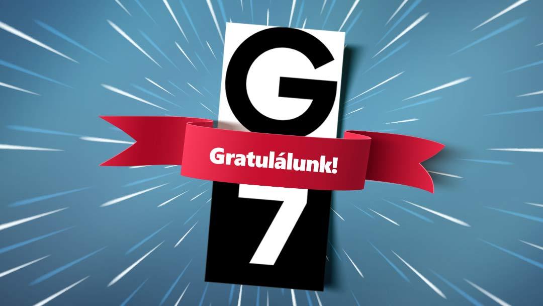 G7 – egy évesek vagyunk!