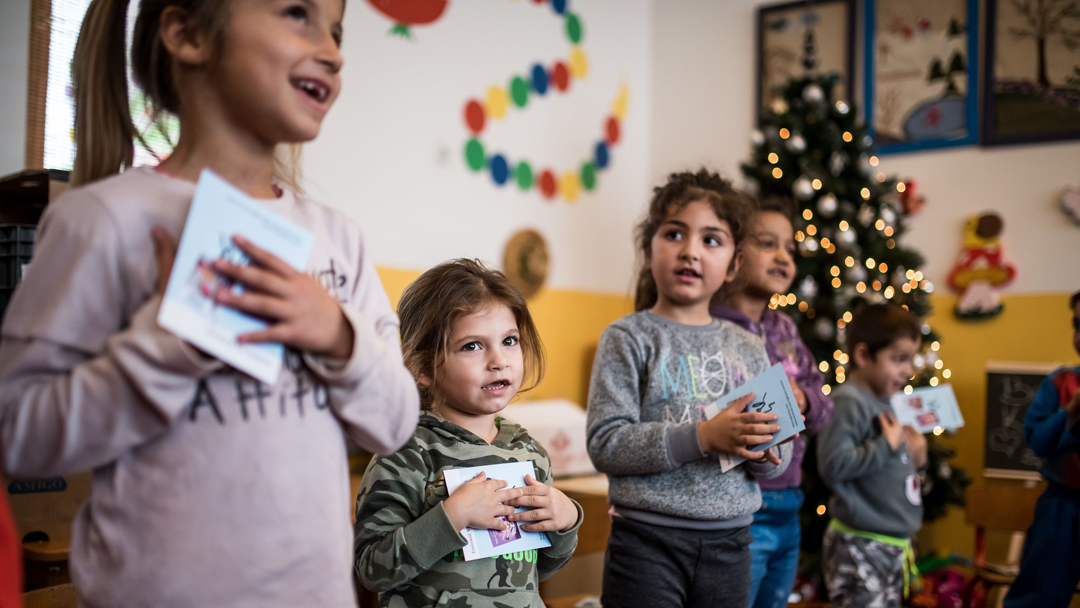 Együtt varázsoltuk szebbé a gilvánfalvai ovisok karácsonyát