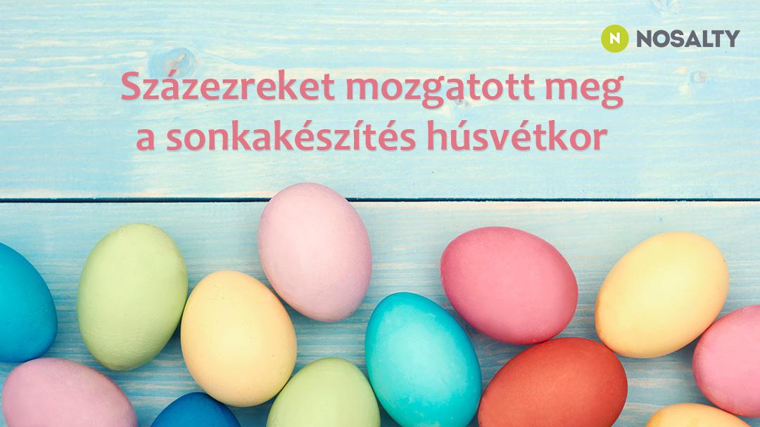 Mi került a húsvéti asztalra? Húsvétkor is a Nosalty volt a legnépszerűbb