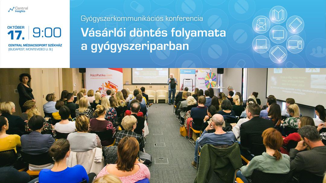 V. Gyógyszerkommunikációs konferencia – A szívünkre, vagy az eszünkre hallgatunk gyógyszervásárláskor?