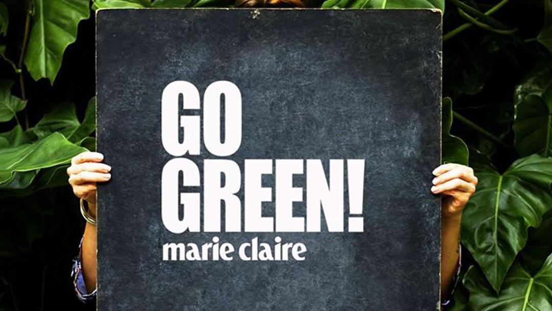 Marie Claire Go Green rendezvény
