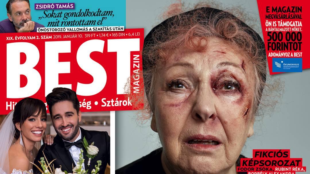 Kimagasló példányszámot ért el a családi erőszak ellen kampányoló Best magazin