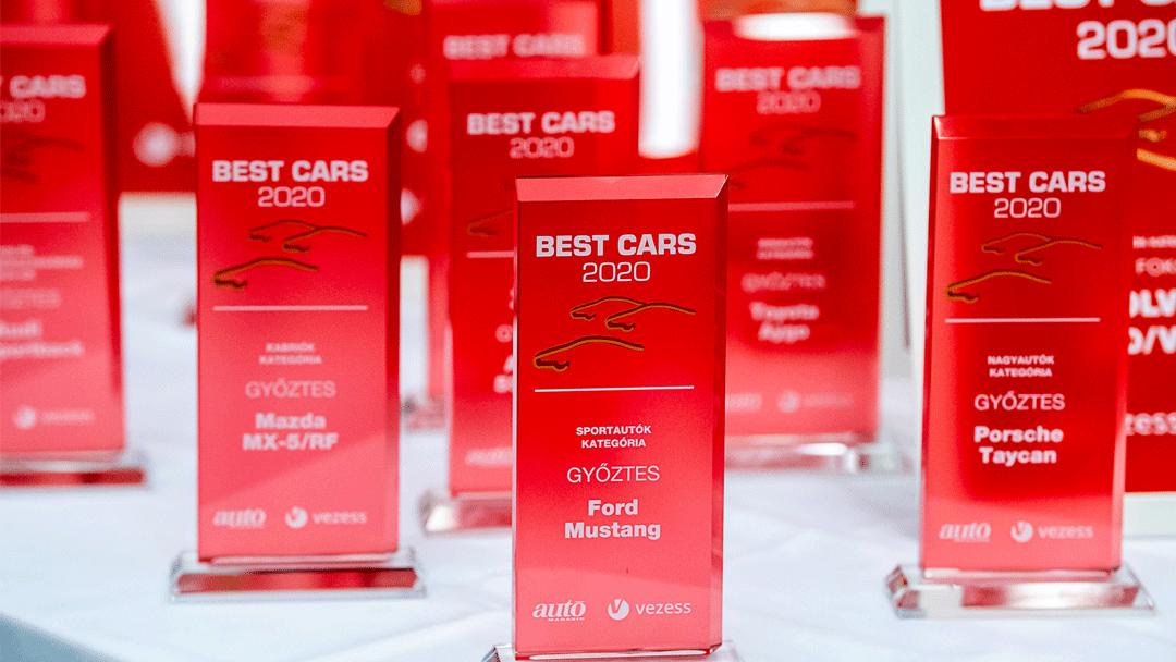 A legjobb autómárkákat díjazta a Vezess és az Autó Magazin