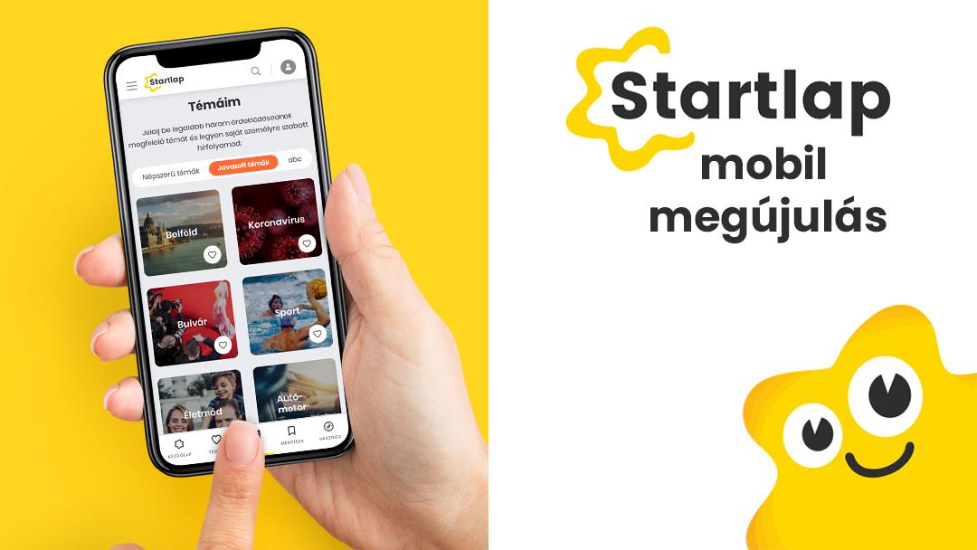 Újdonságok a Startlap mobilverziójában!