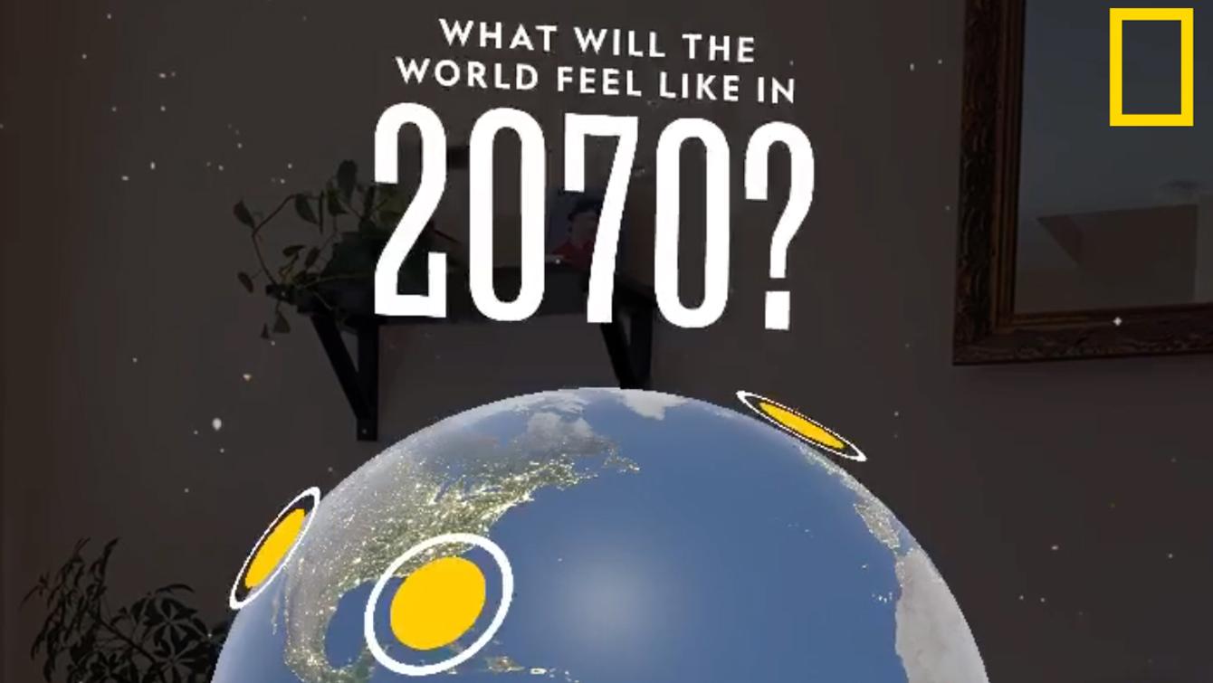 Interaktív borítóval készült a National Geographic a Föld napja alkalmából!