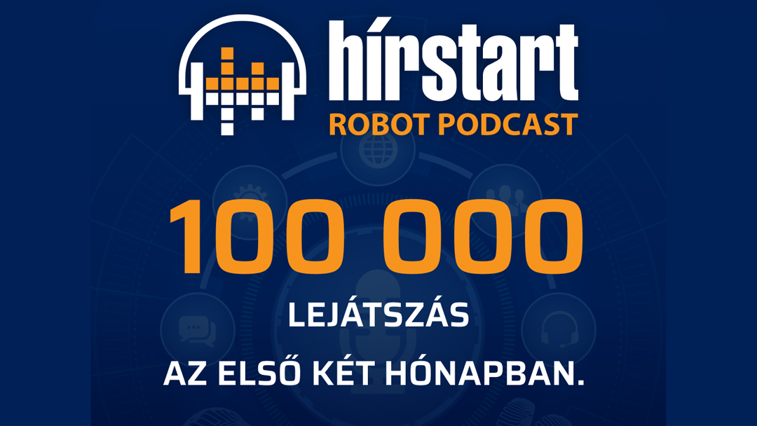 Rendkívül népszerű a Hírstart Robot Podcastja