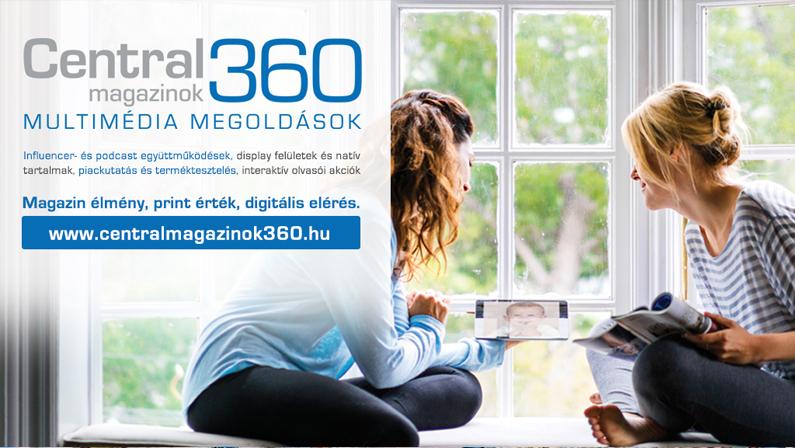 """Itt a print márkák vírusálló' digitális megoldása: Elindult a """"Centralmagazinok 360"""""""