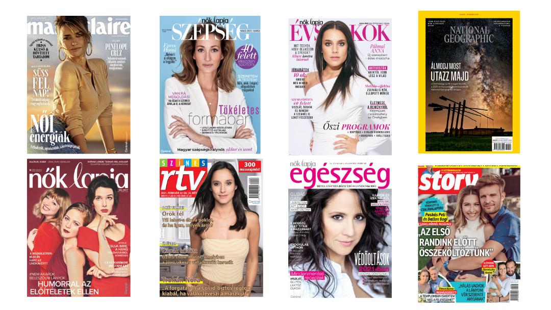 COVID-álló magazinok. Centrálé a piac harmada!