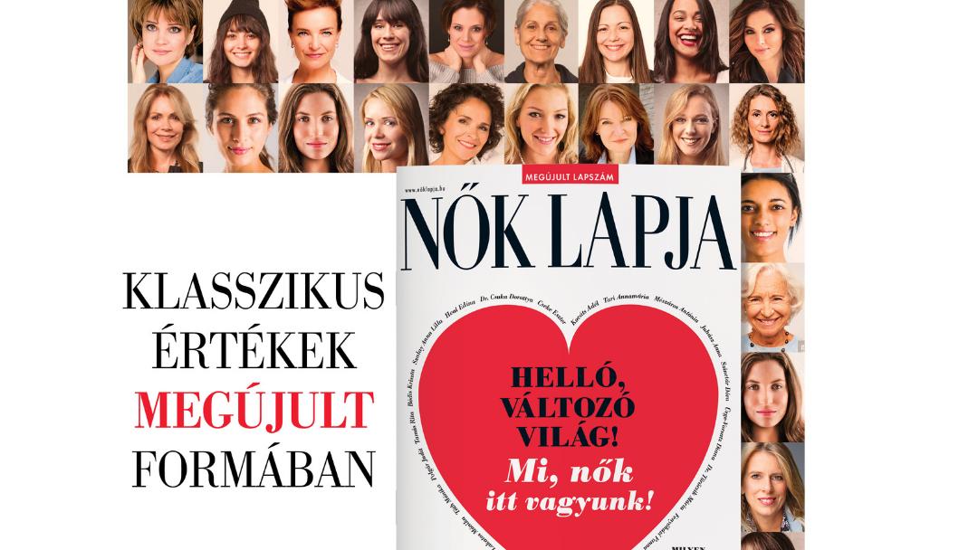 Mi, nők itt vagyunk – üzeni a megújult Nők Lapja